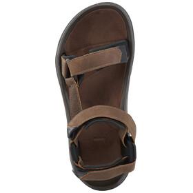 Teva Terra Fi 4 Leather Sandals Men Bison